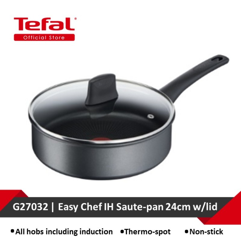 Tefal Easy Chef IH Saute-pan 24cm w/lid G27032 Singapore