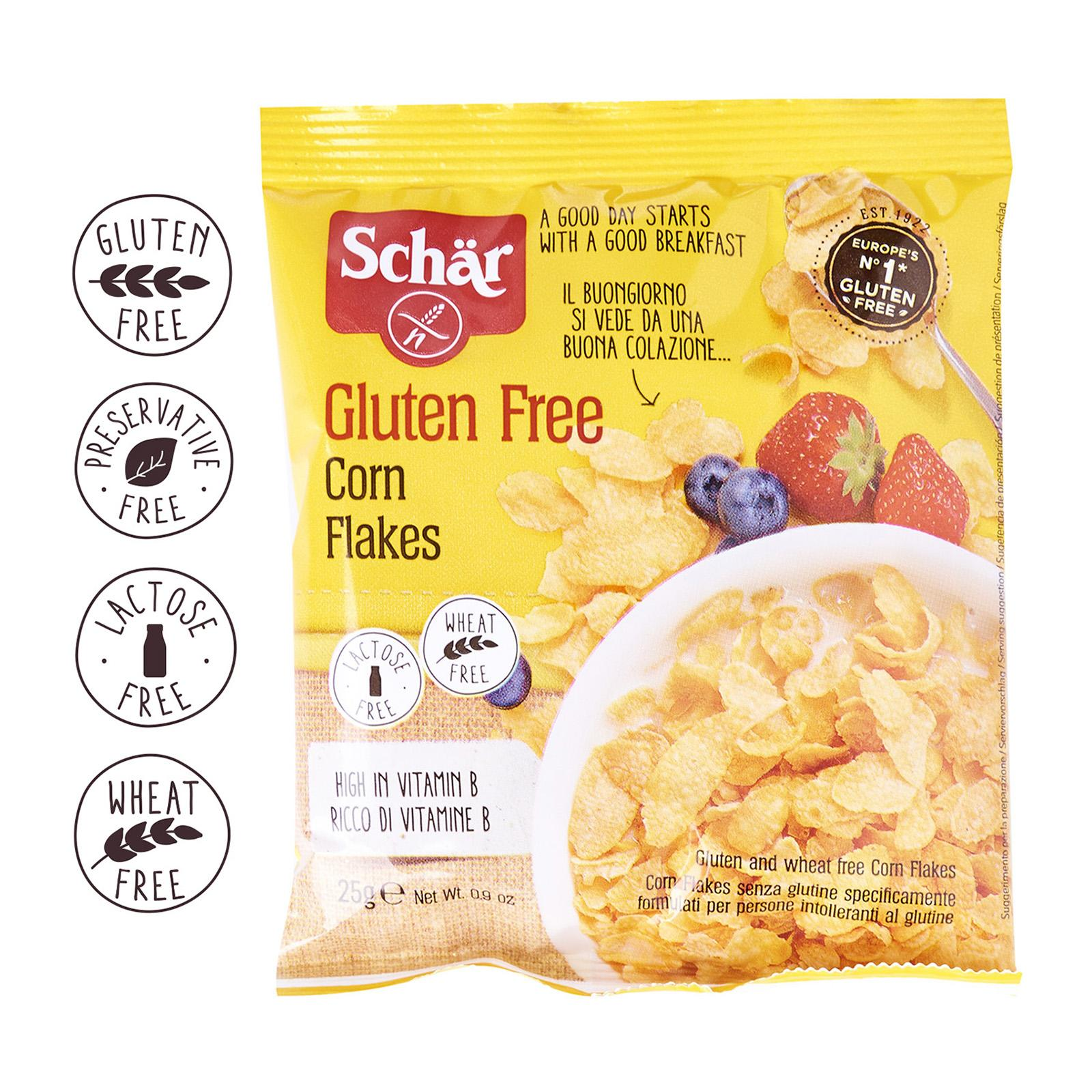 Dr. Schar Corn Flakes Single Serve- Gluten Free by Agora Products