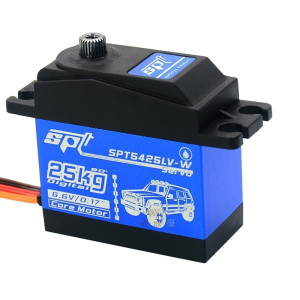 Mua SPT 5425LV-W RC Servo 25KG Digital Servo High Torque RC Parts Digital Steering Gear High Torque 90 Degrees