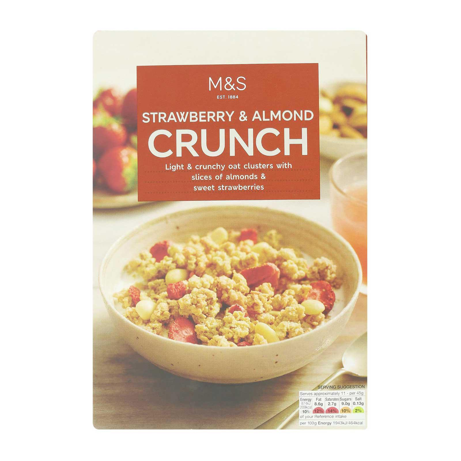 Marks & Spencer Strawberry and Almond Crunch