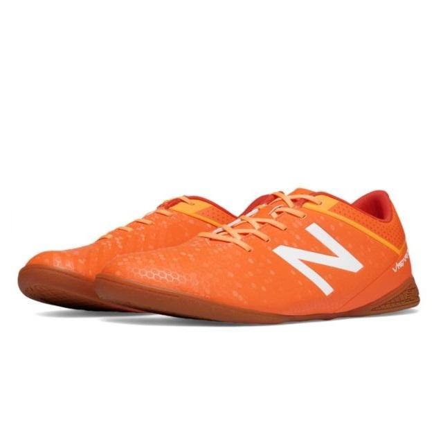 b528d8b25e92 NB Visaro Control 2 INDOOR (D Width) - Men Football Shoes (Orange)