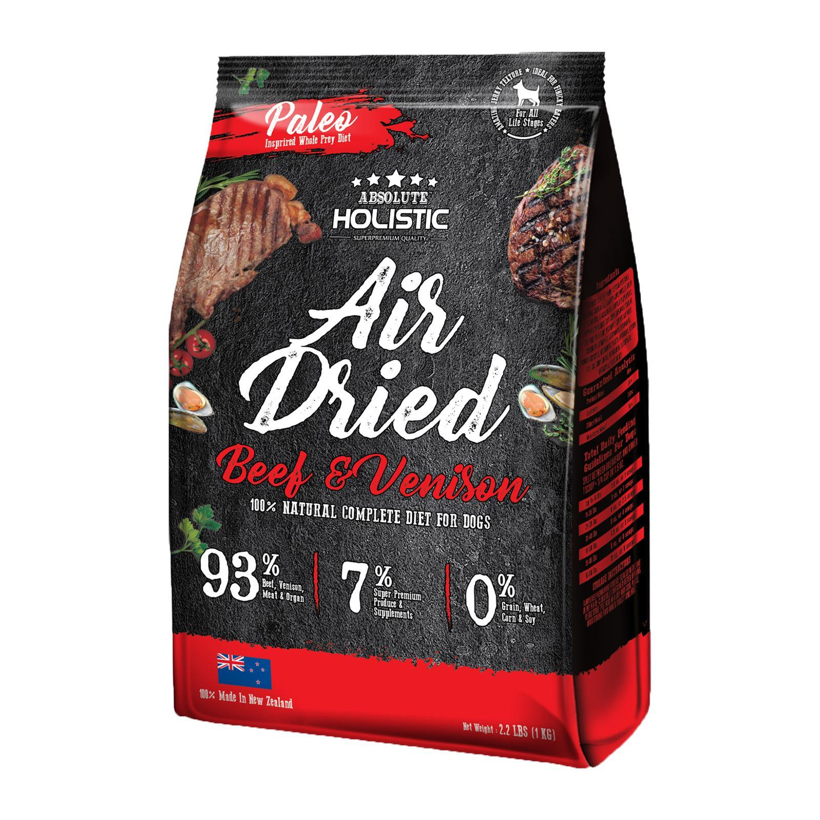 Absolute Holistic Air Dried Beef And Venison (Dog)