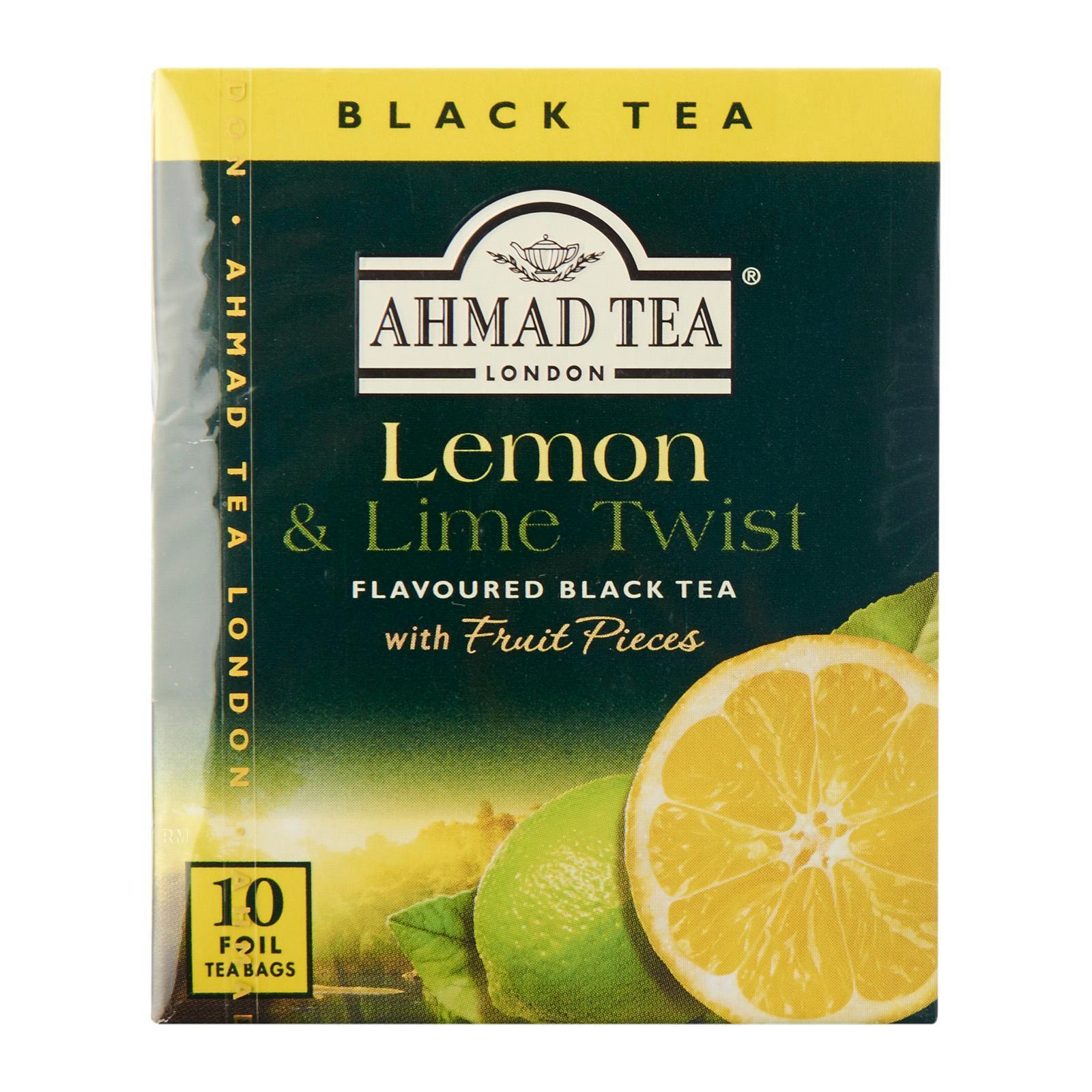 Ahmad Lemon And Lime Twist 10'S Tea