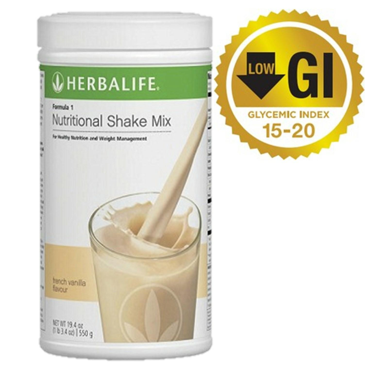 Singapore Herbalife Nutritional Shake Formula 1 Vanilla By Realdeals.