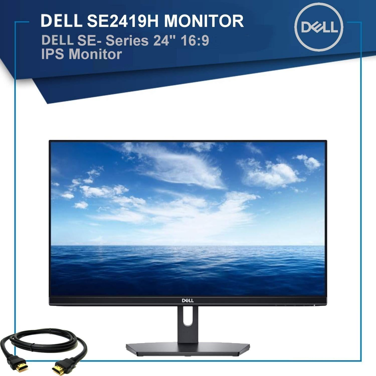 [New Arrival July 2019]New Dell sealed box model SE2419H 24 INCH FullHD 5ms  HDMI port, VGA port IPS screen monitor with 3 years dell onsite