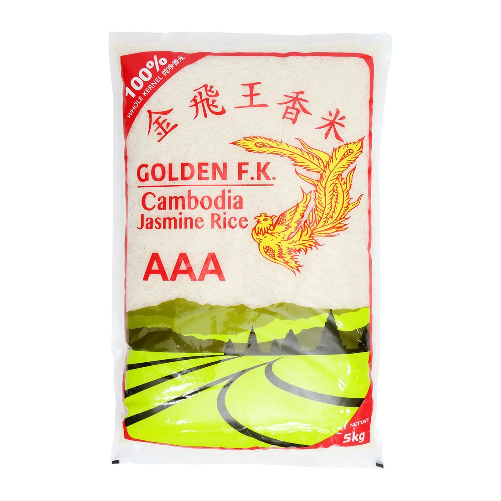 Golden F.K. Cambodia Jasmine Rice 5 KG