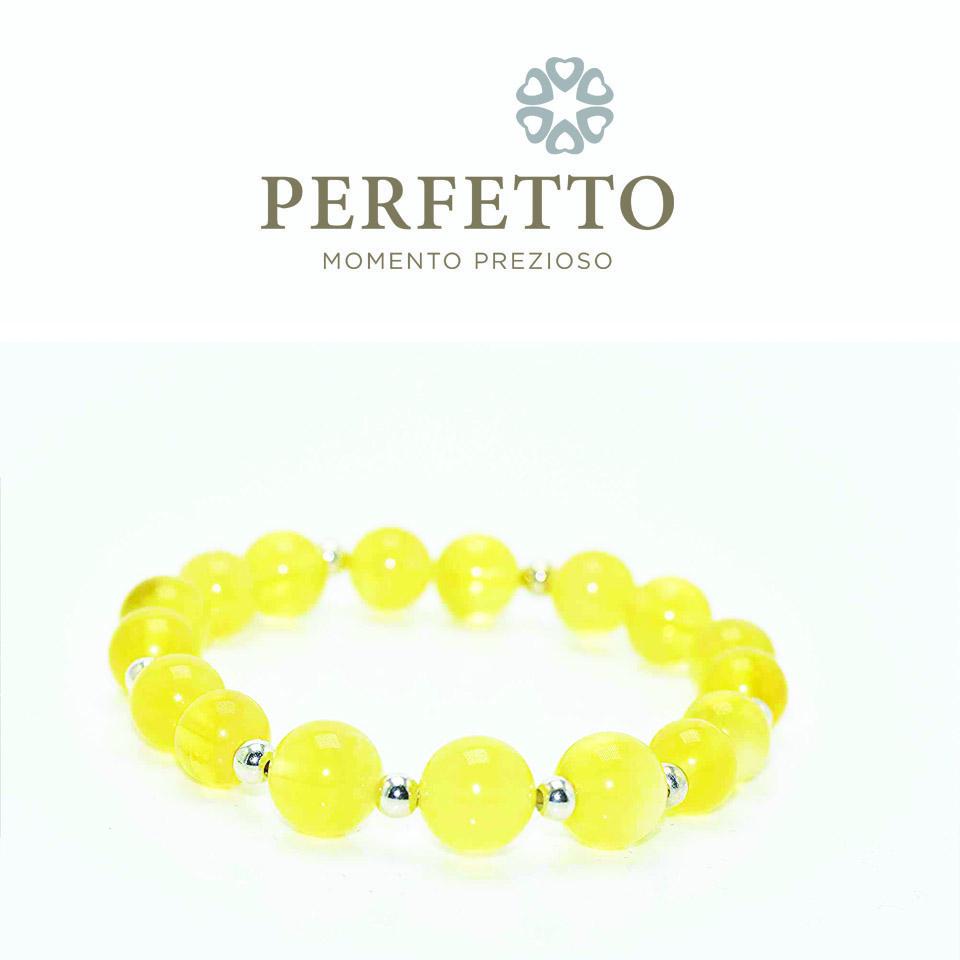 Gold Amber Bracelet/ 金绞蜜手链.