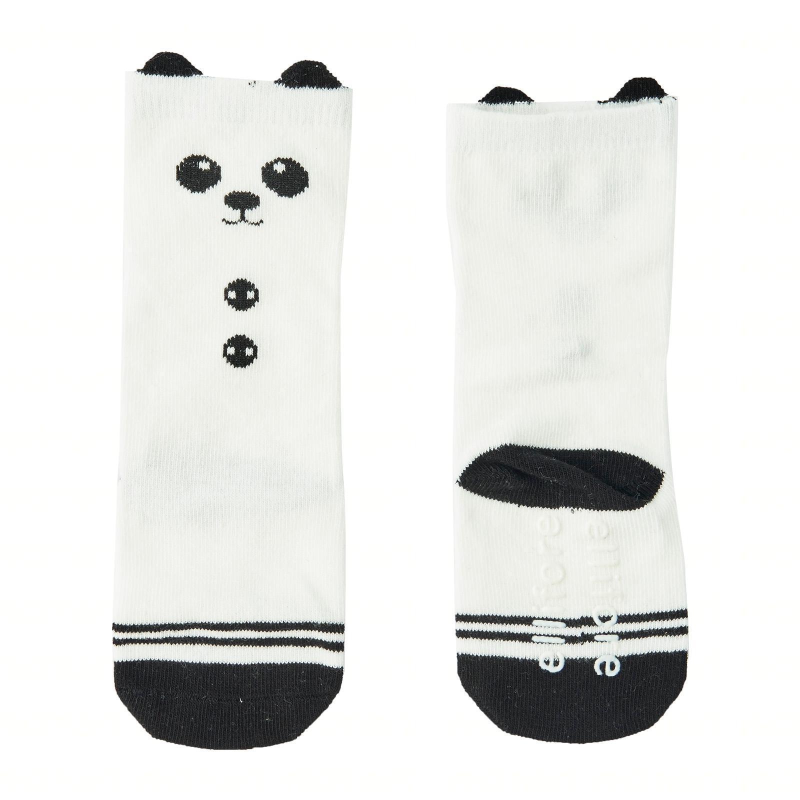 acd76ea30 My Babblings Animal Knee High Socks with Ears (Hello Panda in Toddler Size)