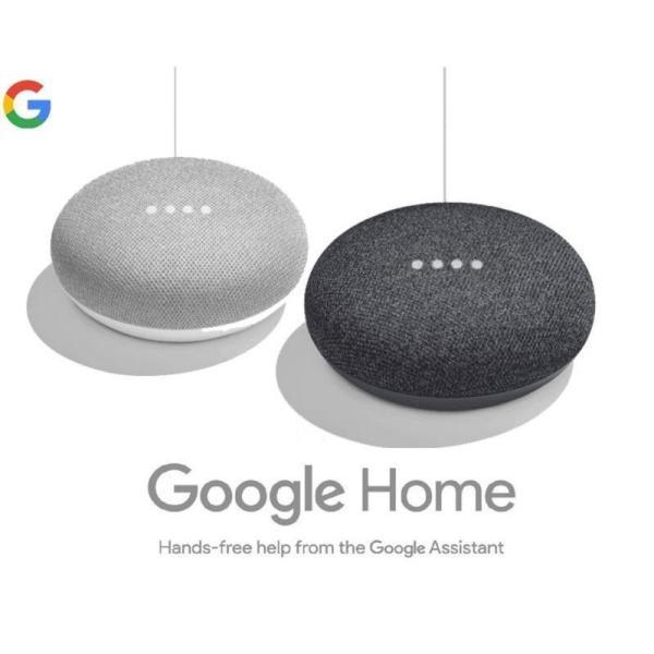 Google Home Mini Charcoal / Chalk Singapore