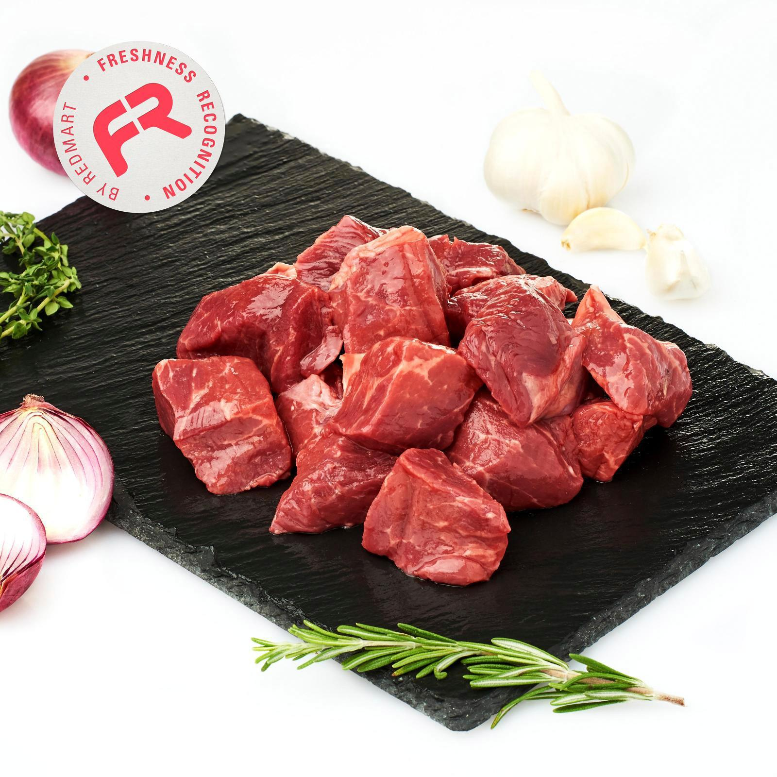 Redmart Grass Fed Angus Diced Beef - New Zealand By Redmart