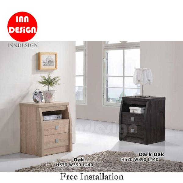 (Delivery As Usual Within 2-3 Working Days) Belle Bedside Table