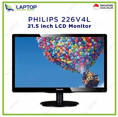 PHILIPS 226V4L 21.5-inch LCD Monitor @Deal Clearance@ Brand New