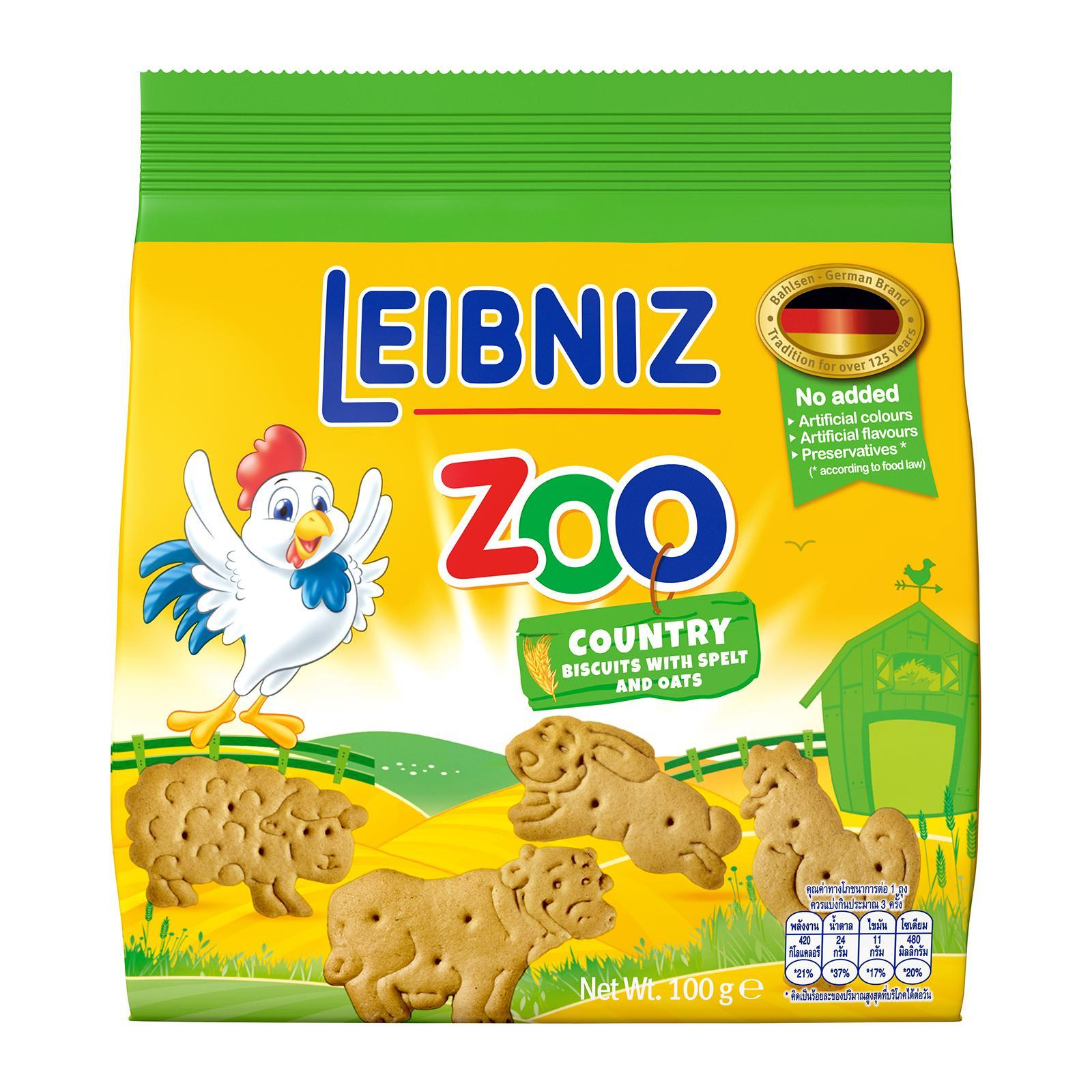 Bahlsen Leibniz Zoo Country Biscuits