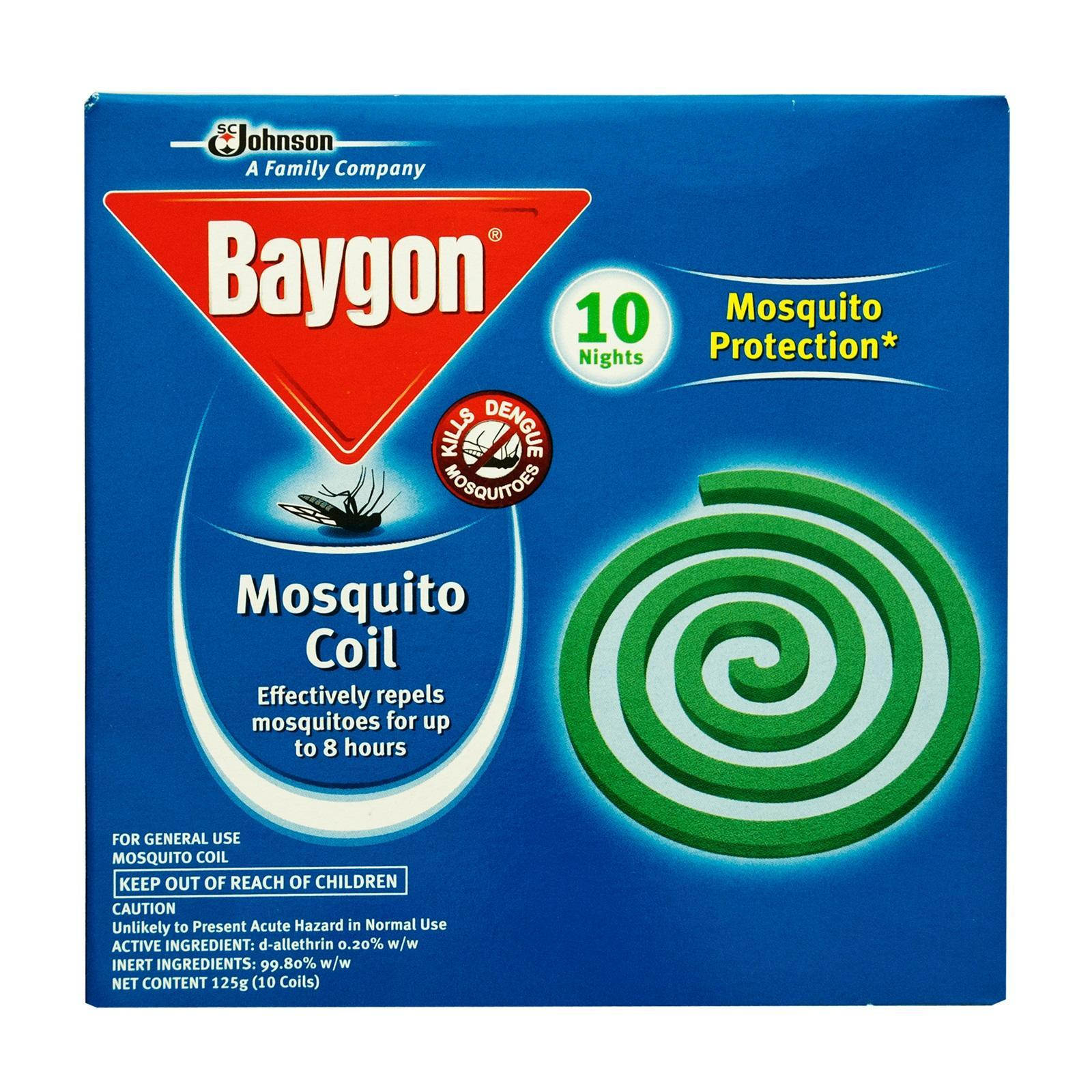 Baygon Mosquito Coil By Redmart.