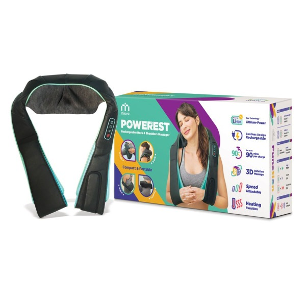 Buy Miuvo Power Rest Neck and Shoulder Massager Singapore