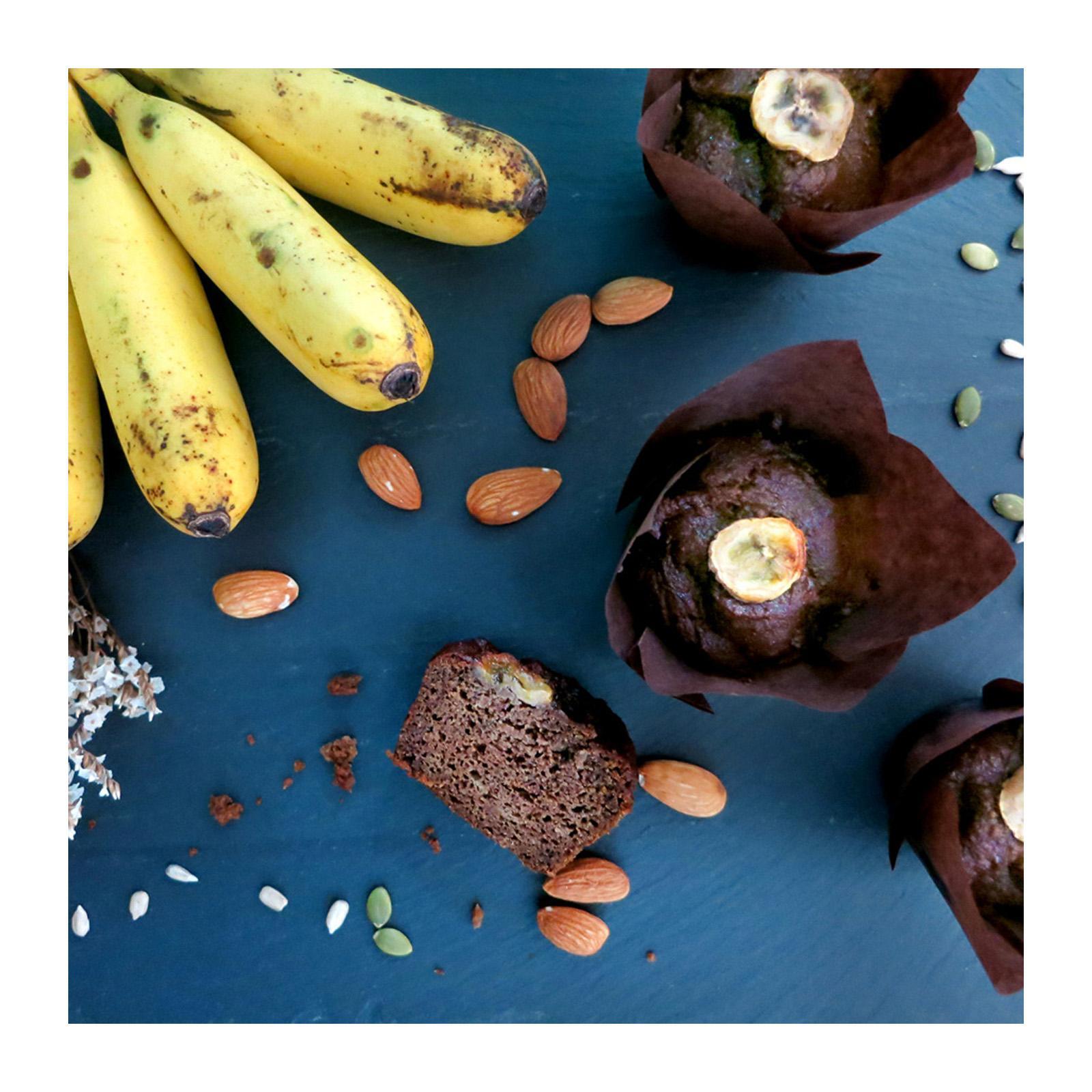 Bakening Flourless Banana Muffins (vegan And Paleo) By Redmart.