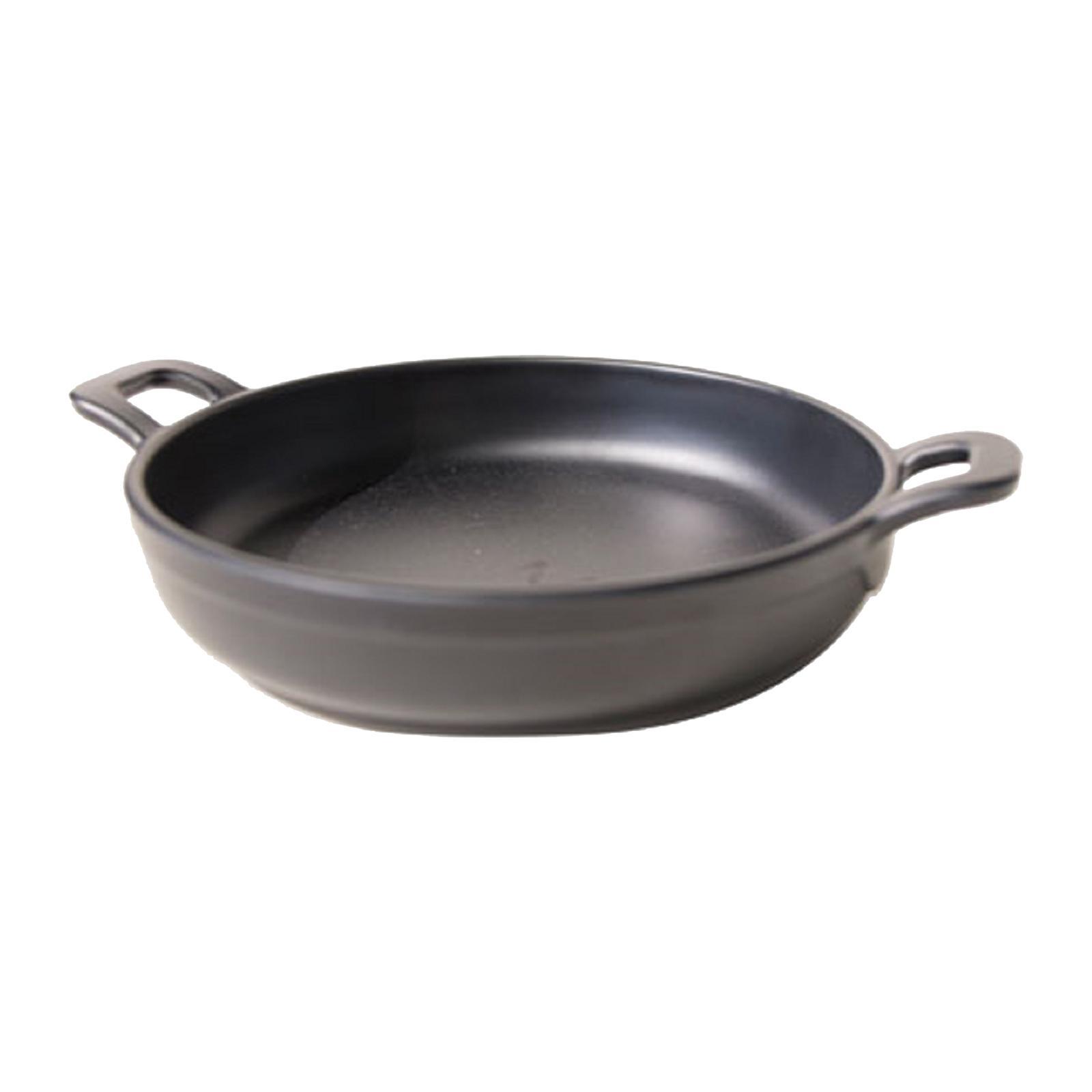 Efay Melaime 5 Inch Mini Round Pan - Black