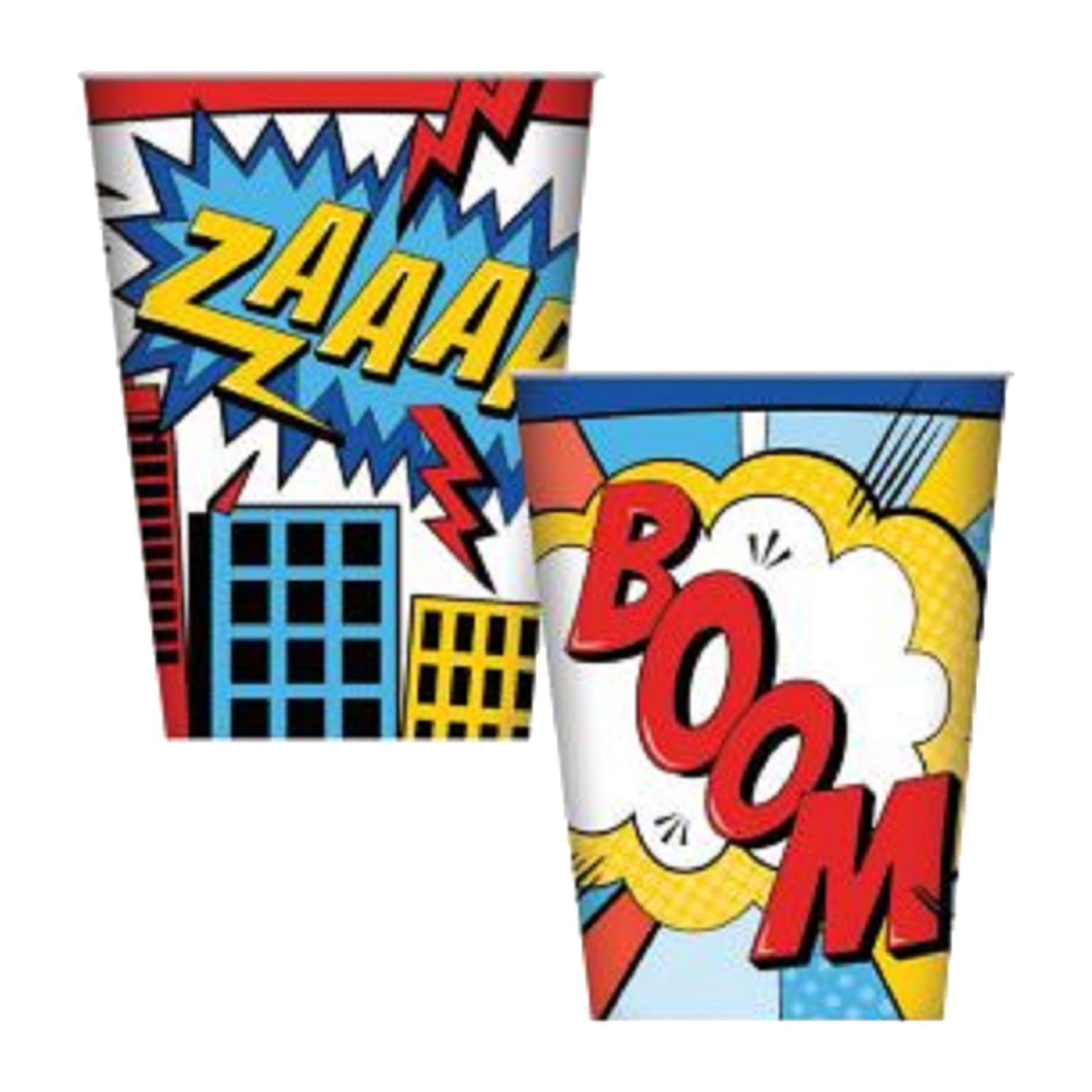Artwrap Party Cups - Superhero