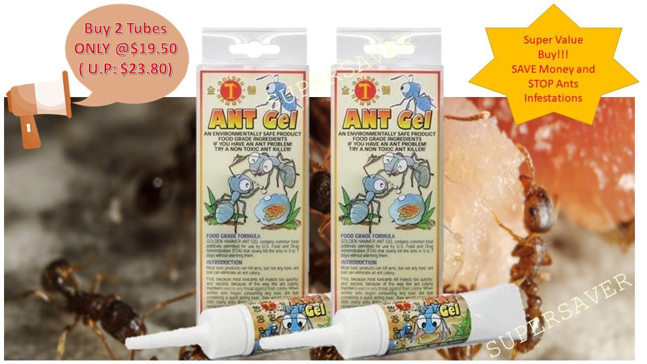 Golden Hammer Ant Gel-30gm Value Buy @ 2 for ONLY $19.50!