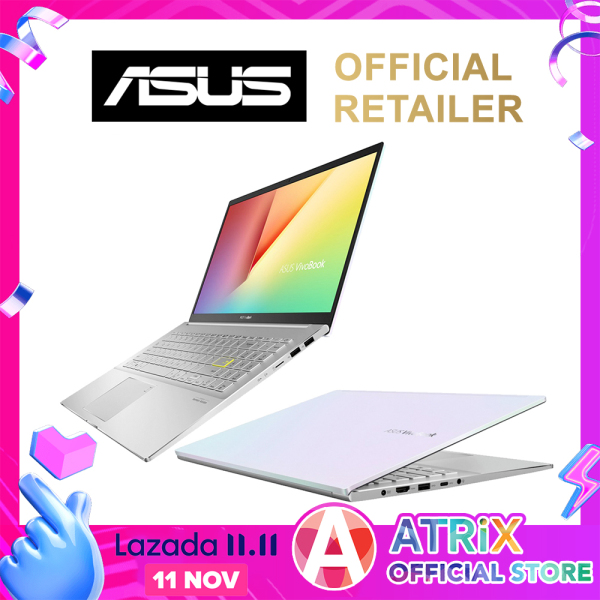 "【Same Day Delivery】ASUS 2020 VivoBook S15 S533FL〖Free Office 2019〗Wifi 6 | 16.1mm Slim design | 15.6"" FHD 100% sRGB 