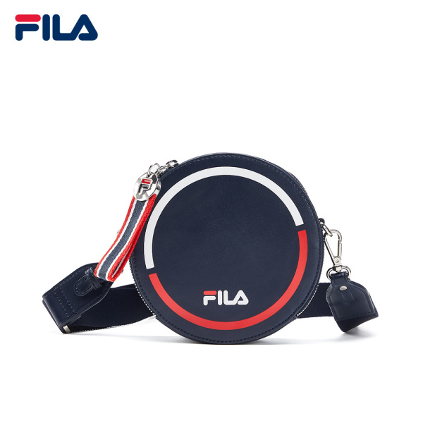 FILA White Line Womens Round Shoulder Bags Navy