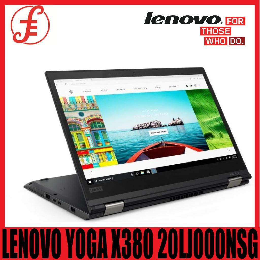 LENOVO YOGA X380 20LJ000NSG i5-8250U 8GB RAM 256GB SSD 13.3 INCH FHD WIN 10 PRO