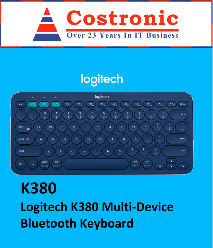 Logitech K380 Multi-Device Bluetooth Keyboard Singapore