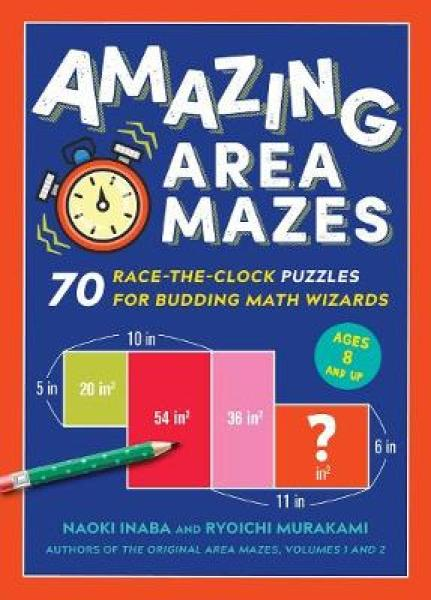Amazing Area Mazes PAPERBACK (9781615196180)