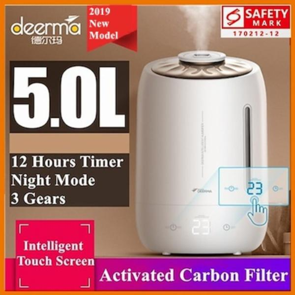 RC-Global Deerma DEM - F600 Humidifier 5L Large Capacity Air Purifier Aromatherapy Aroma Diffuser Purifying Mist Maker Household Air-conditioned Rooms Office SG Safety Mark Plug (德尔玛加湿器家用静音卧室孕妇婴儿大容量空气净化空调香薰机F600) Singapore