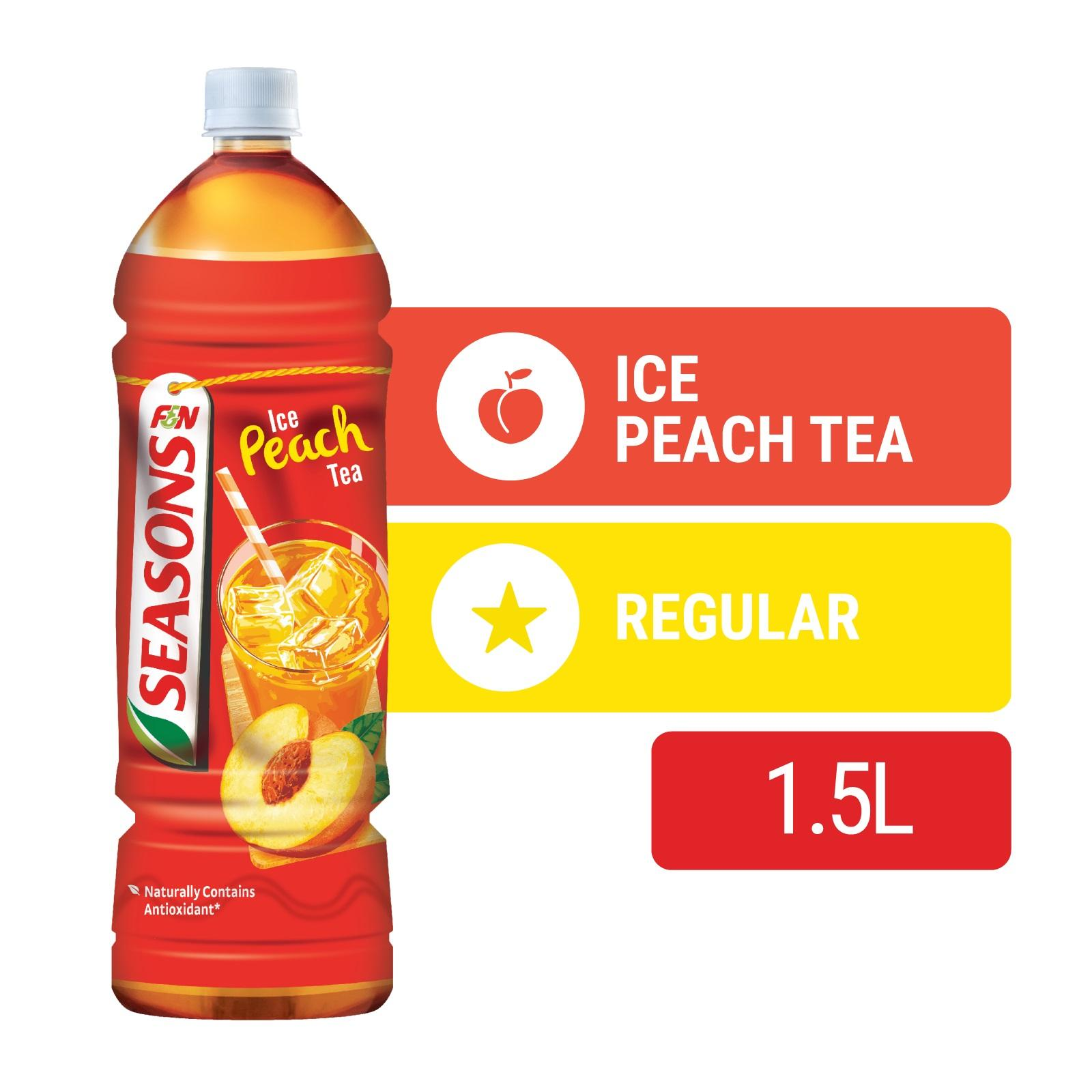 F&N Seasons Bottle Drink - Ice Peach Tea