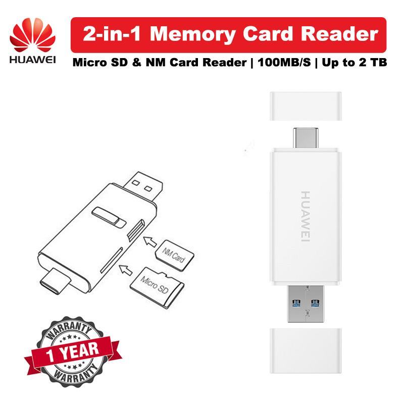 Huawei 2-IN-1 MEMORY CARD READER FOR NANO CARD AND MICRO SD