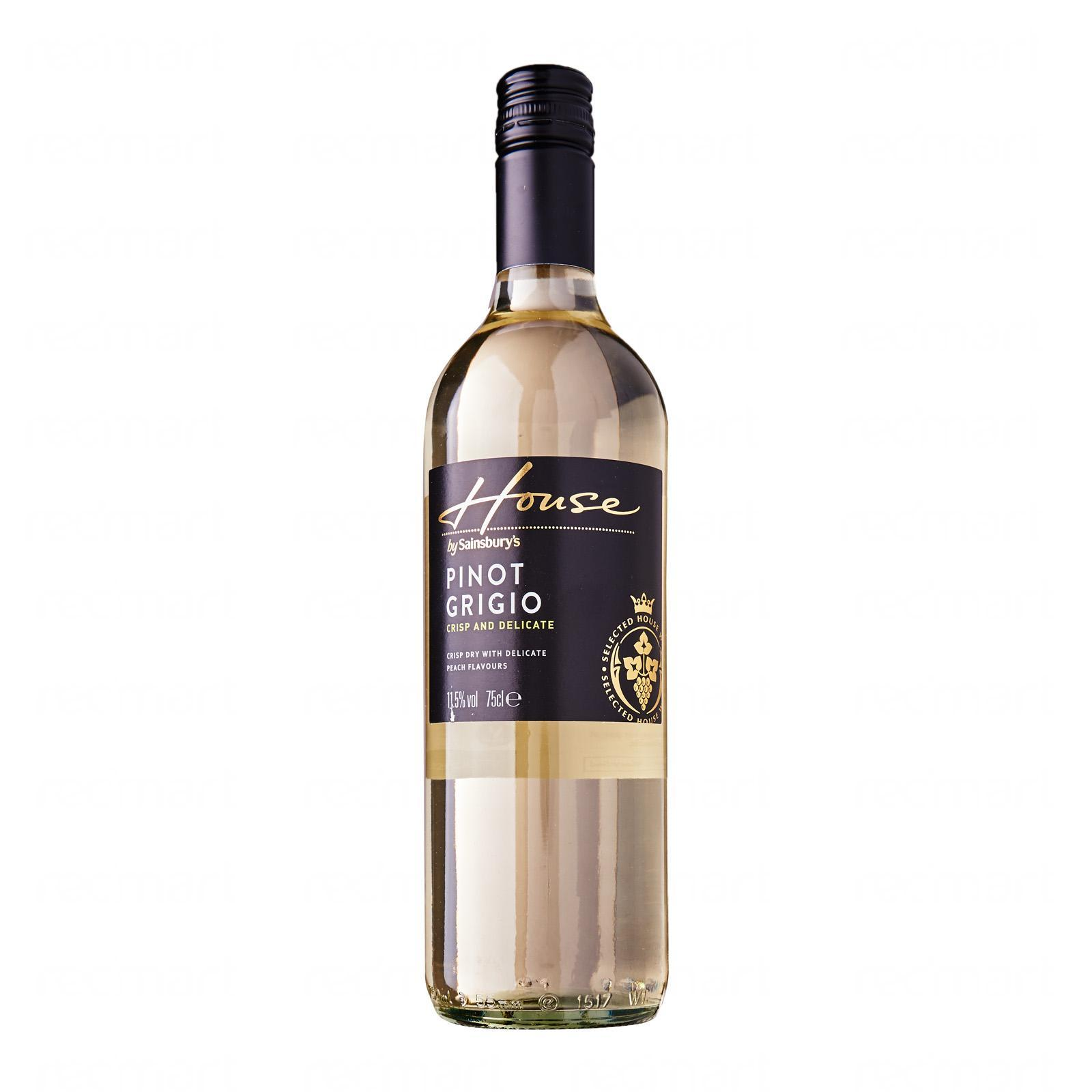 Sainsbury's House Pinot Grigio White Wine