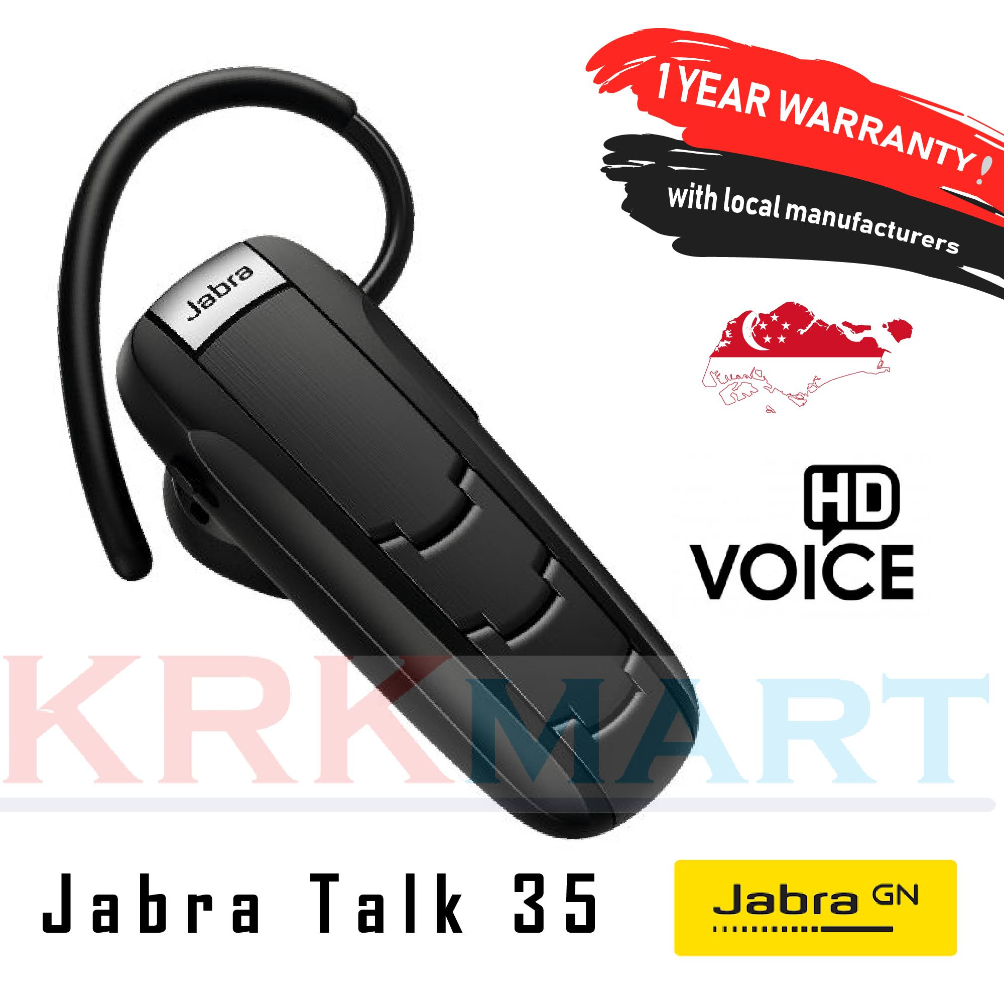 19a0993411b Singapore. Jabra Talk 35 Bluetooth Wireless Headphone (Local Manufacturer  Warranty - 1 Year)
