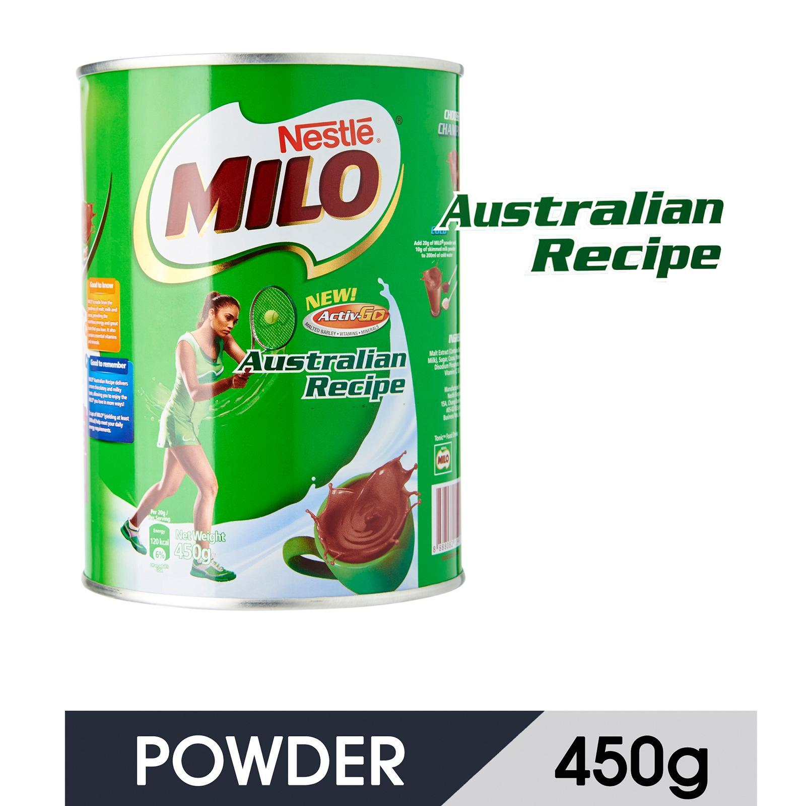 MILO Australian Recipe Powder Tin