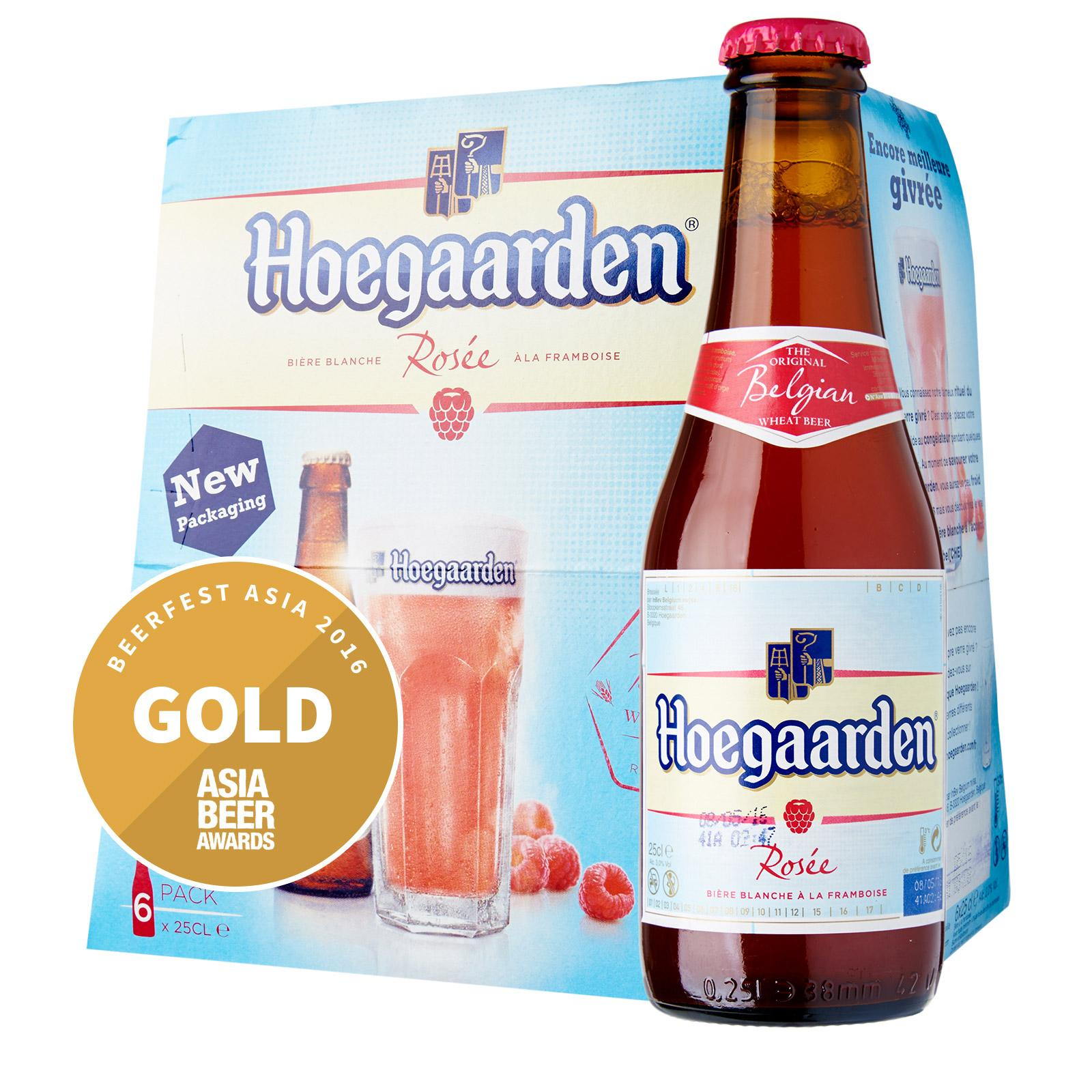 Hoegaarden Belgian Rose White Raspberry Beer
