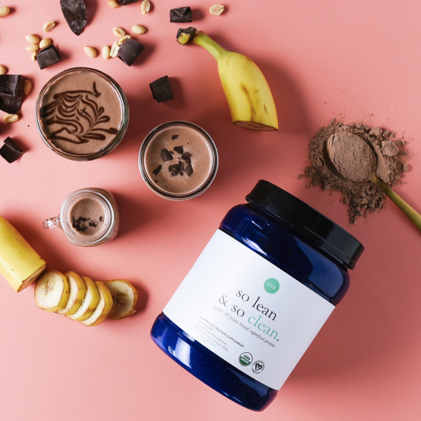Buy Ora Organic So Lean So Clean Vegan Protein Powder Chocolate - 22g of Raw, Plant-Based, Low-carb Protein with Greens and Digestive Enzymes, Dairy-Free, Gluten-Free, Soy-Free, Paleo, Keto-Friendly - Chocolate Flavor, 20 Servings 650g Singapore