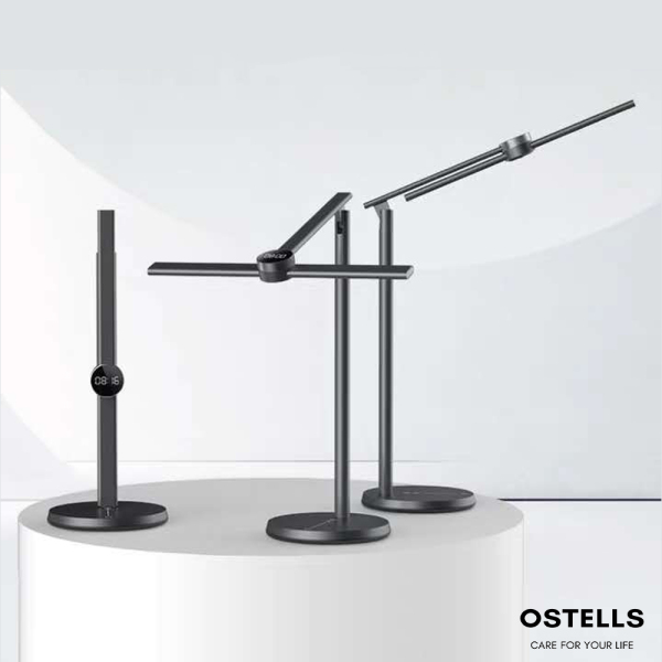 [OSTELLS] EZVALO Smart Eye Protecting Table Lamp, Work/Study/Atmosphere Light, Museum Level Colour Rendering, Motion Detection, App Controlled Lighting Effects
