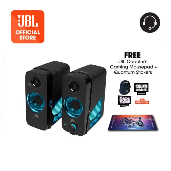 JBL Quantum Duo PC Gaming Speakers + Gaming Mouse Pad + Stickers Singapore