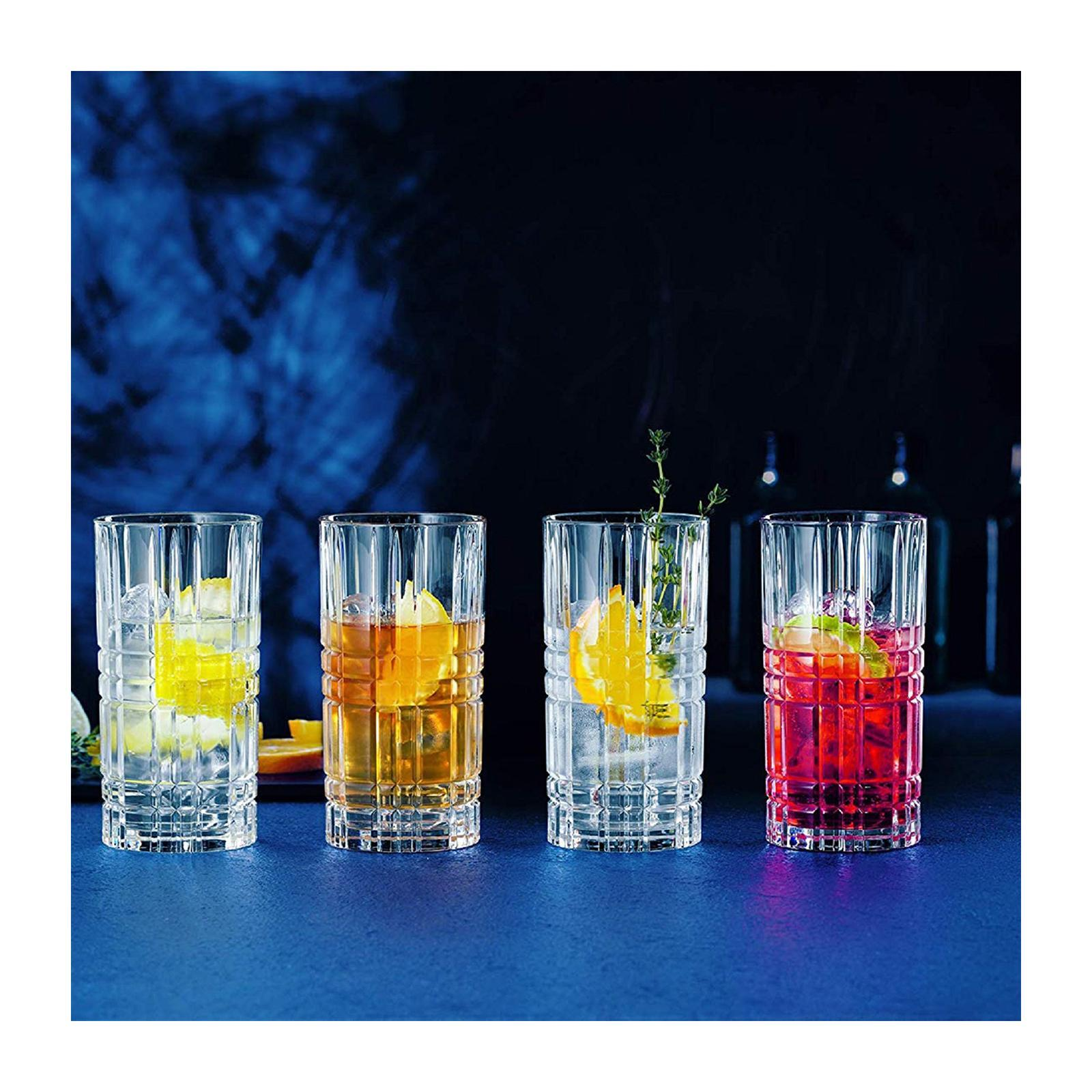 Nachtmann Square Collection Set Of 445ML Longdrink Glasses