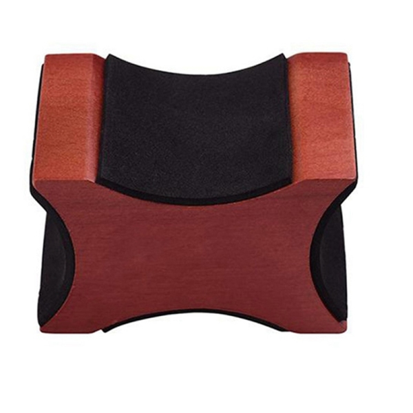 Guitar Neck Rest, Electric Acoustic & Guitar Support Pillow for Changing Strings, String Instrument Wooden Neck Craddle