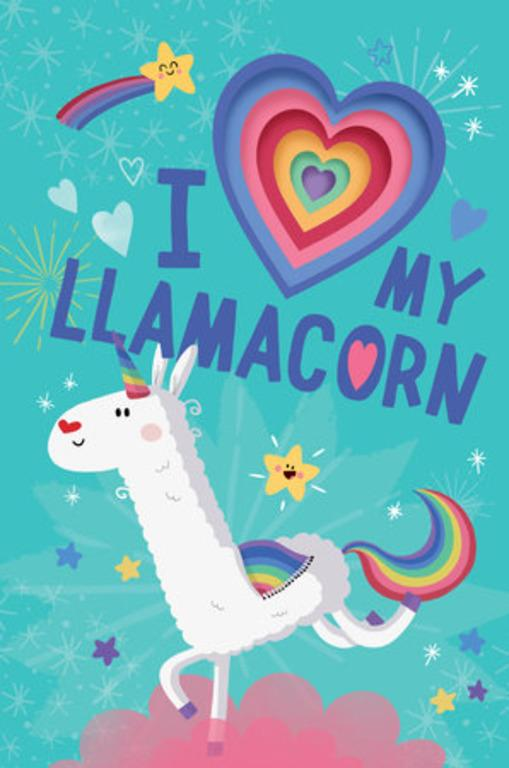 I Love My Llamacorn by House Random