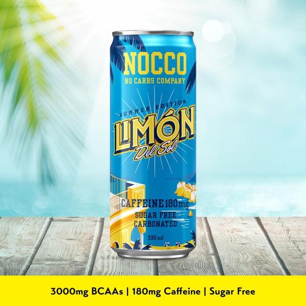 Buy NOCCO BCAA (Case of 24) -  Limón Del Sol Singapore