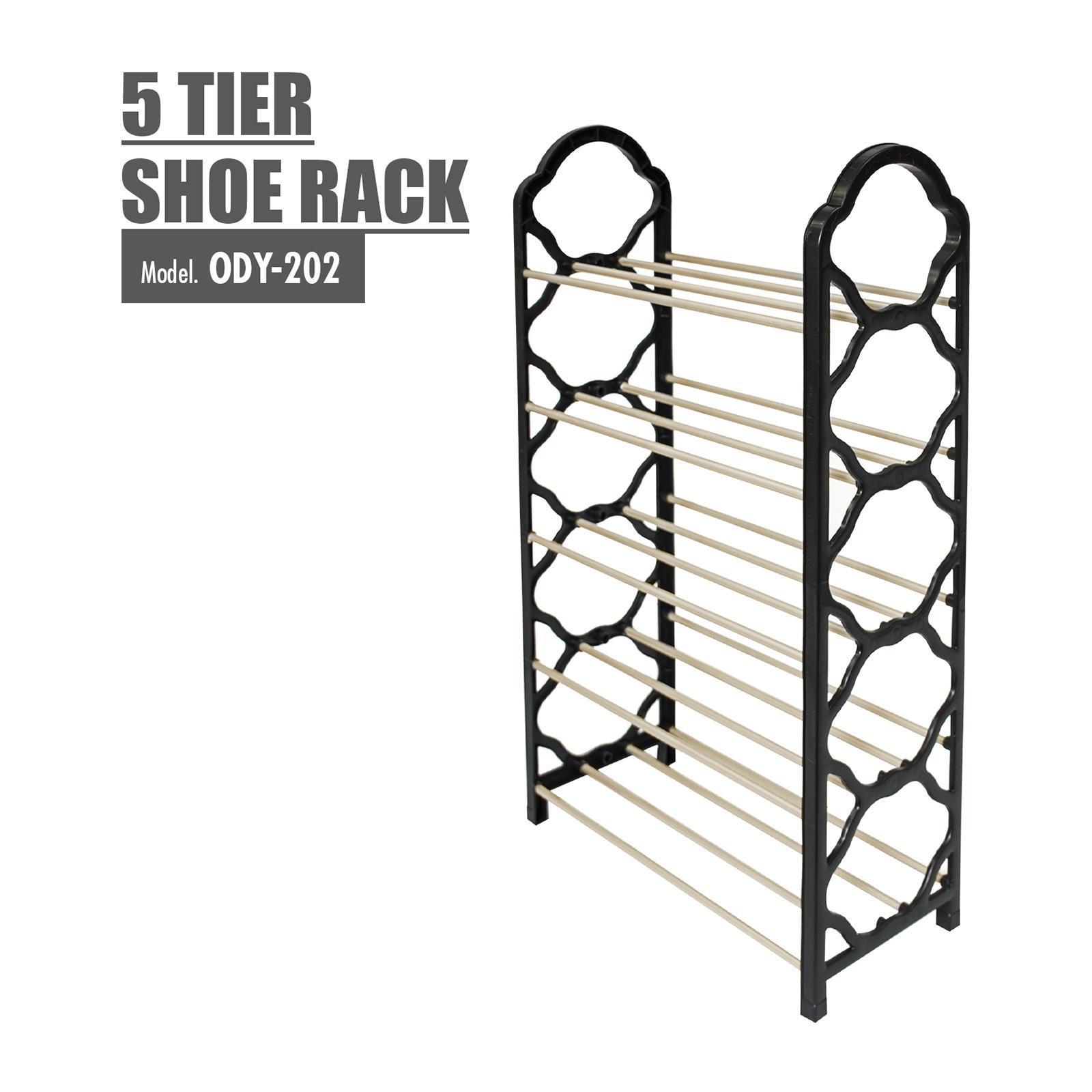 HOUZE 5 Tier Shoe Rack