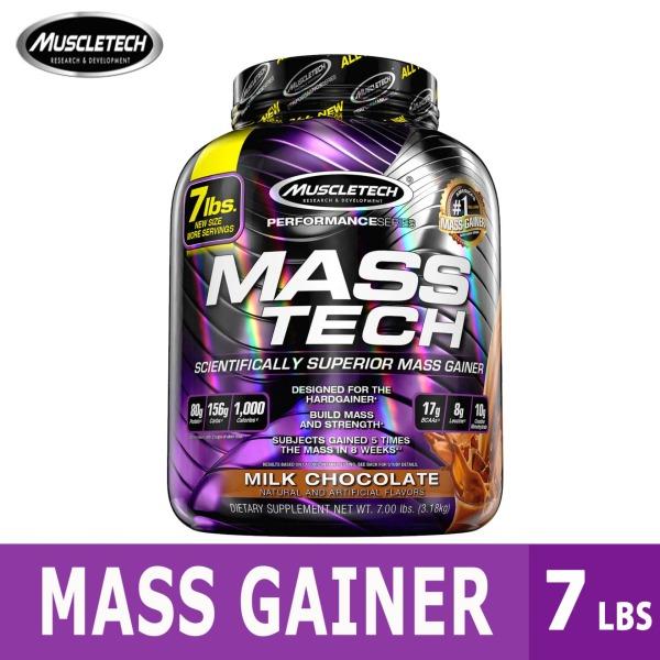 Buy Muscletech, MassTech, Scientifically Superior Mass Gainer Protein Powder, 7.00 lb Singapore