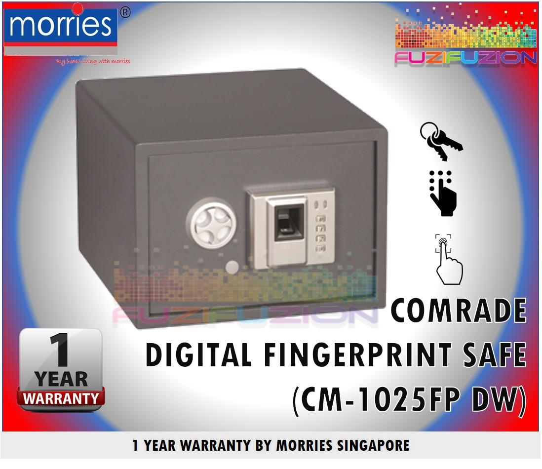 Morries CM 1025FP DW Digital Fingerprint/digital safe (Black)