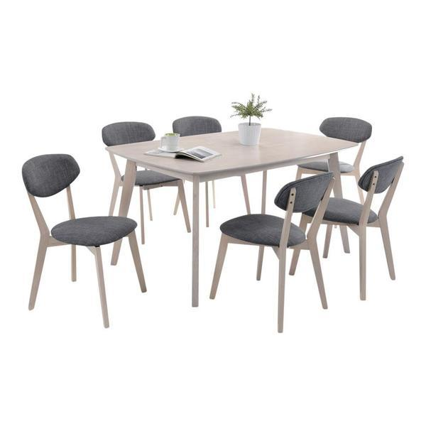 Jovrill Dining Set (1+6)