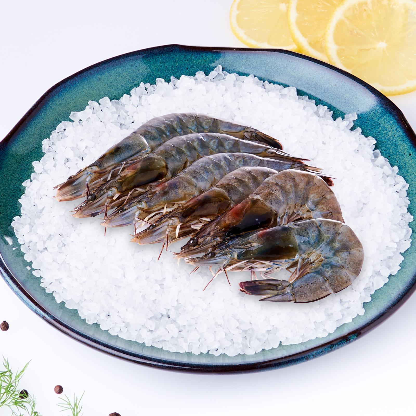 Jurong Fish Market Fresh Tiger Prawns - Large