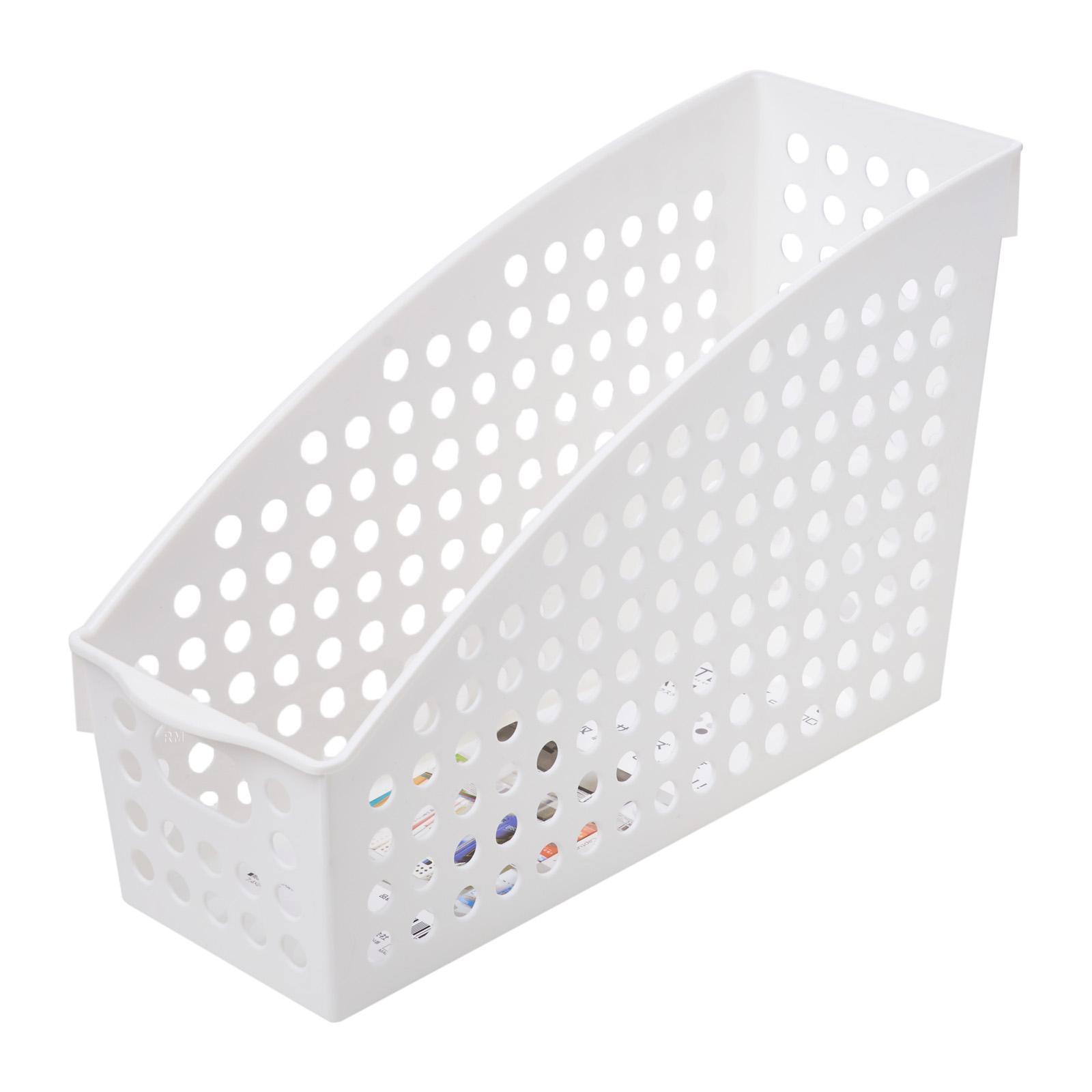 Inomata PP Stand File Basket A4/WHT
