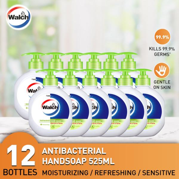 Buy Walch Antibacterial Handsoap 525ml x 12 bottles - Moisturizing / Refreshing / Sensitive Singapore