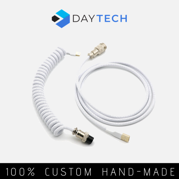 [Pre-Order ~2 weeks] DayTech Custom Coiled Aviator Keyboard Cable
